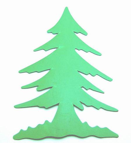 剪纸-圣诞树 [updated